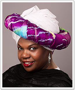 Woman Wearing Colorful Hat
